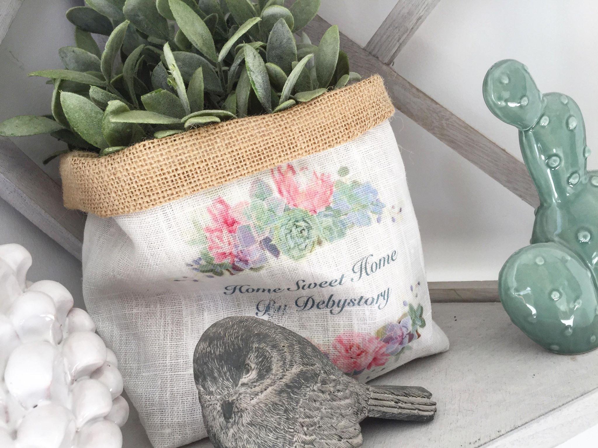 DIY – Le panier en tissu